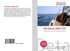 USS Bowie (APA-137)的封面