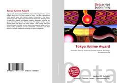 Bookcover of Tokyo Anime Award