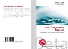 Portada del libro de Saint- Gengoux- le- National
