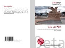 Afry vor Pont的封面