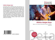 Bookcover of Afshin Amjee Azar