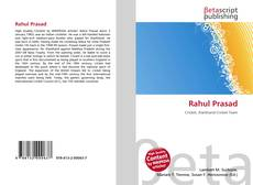 Обложка Rahul Prasad