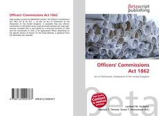 Officers' Commissions Act 1862的封面
