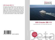 USS Crouter (DE-11) kitap kapağı
