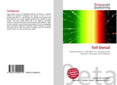 Bookcover of Toll Denial