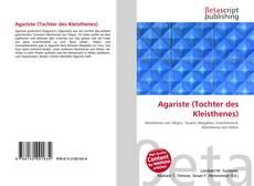 Capa do livro de Agariste (Tochter des Kleisthenes)