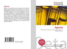 Bookcover of Agarose