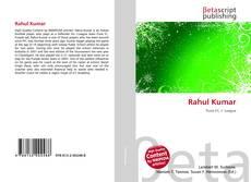 Capa do livro de Rahul Kumar