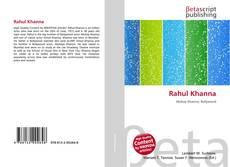 Borítókép a  Rahul Khanna - hoz