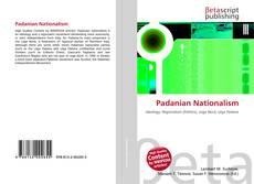 Bookcover of Padanian Nationalism
