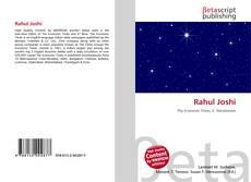 Portada del libro de Rahul Joshi