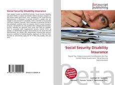 Buchcover von Social Security Disability Insurance