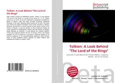 """Обложка Tolkien: A Look Behind """"The Lord of the Rings"""""""
