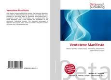 Buchcover von Ventotene Manifesto