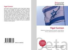 Bookcover of Yigal Carmon