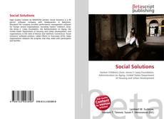 Social Solutions kitap kapağı