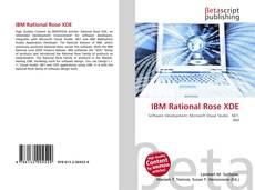 Buchcover von IBM Rational Rose XDE