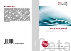 Couverture de Rne-II RNA Motif