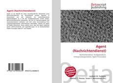 Portada del libro de Agent (Nachrichtendienst)