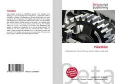 YikeBike kitap kapağı