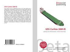 Capa do livro de USS Curlew (AM-8)