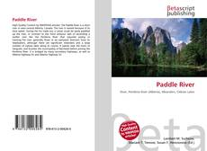 Bookcover of Paddle River
