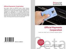 Bookcover of Official Payments Corporation