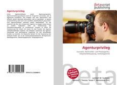 Capa do livro de Agenturprivileg