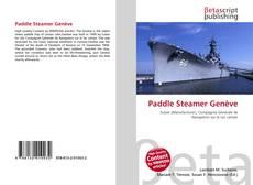 Bookcover of Paddle Steamer Genève
