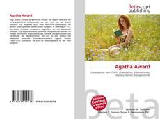 Copertina di Agatha Award