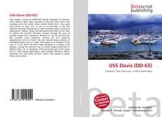 Bookcover of USS Davis (DD-65)