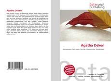 Copertina di Agatha Deken