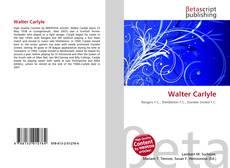 Portada del libro de Walter Carlyle