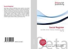 Buchcover von Social Register