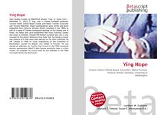 Bookcover of Ying Hope