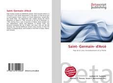 Bookcover of Saint- Germain- d'Arcé