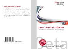 Couverture de Saint- Germain- d'Étables
