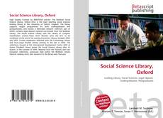 Bookcover of Social Science Library, Oxford