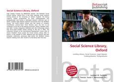 Borítókép a  Social Science Library, Oxford - hoz