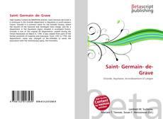 Bookcover of Saint- Germain- de- Grave