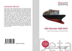 Bookcover of USS Decatur (DD-341)