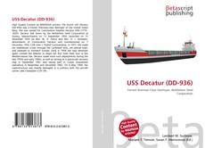 Bookcover of USS Decatur (DD-936)