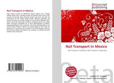 Rail Transport in Mexico kitap kapağı