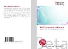 Bookcover of Rail Transport in France