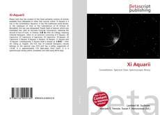 Bookcover of Xi Aquarii