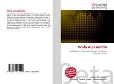 Copertina di Wola Aleksandra