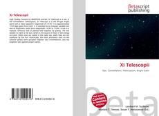 Buchcover von Xi Telescopii