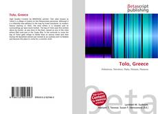 Bookcover of Tolo, Greece
