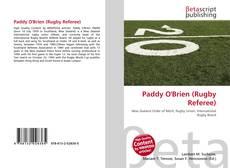 Paddy O'Brien (Rugby Referee) kitap kapağı