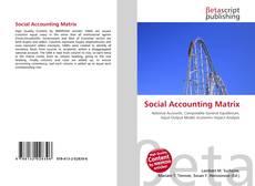 Borítókép a  Social Accounting Matrix - hoz